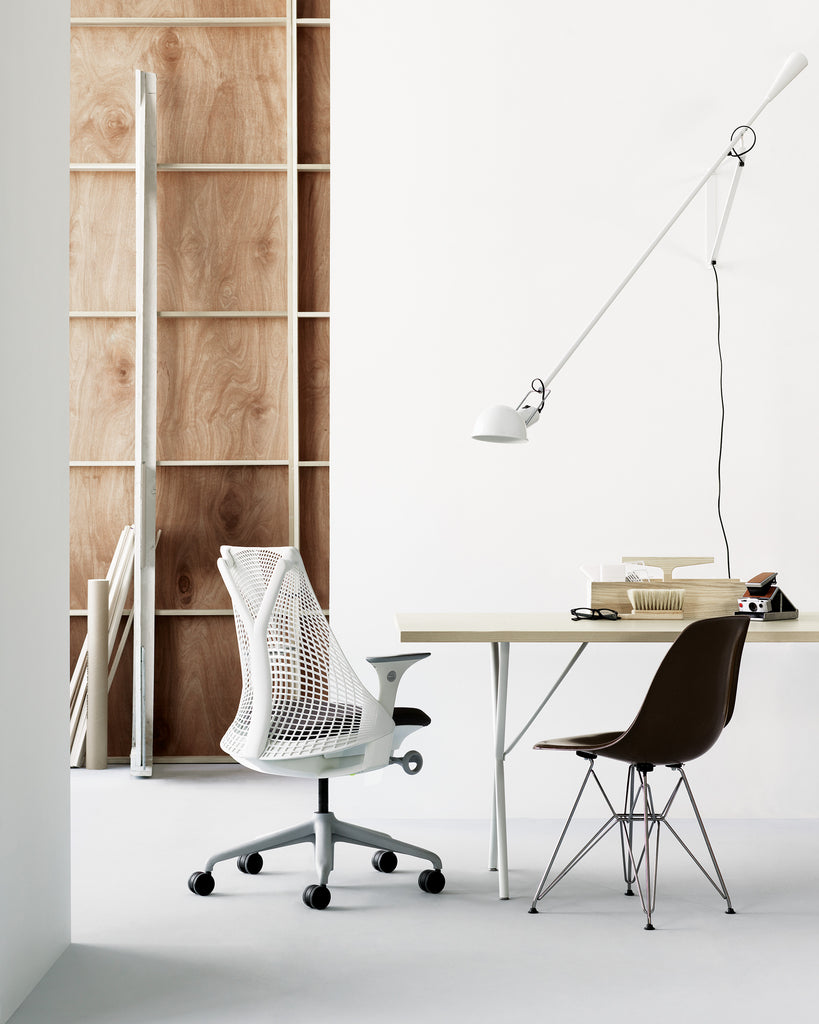 NELSON X LEG WORK TABLE/DESK by Herman Miller for sale at Home Resource Modern Furniture Store Sarasota Florida