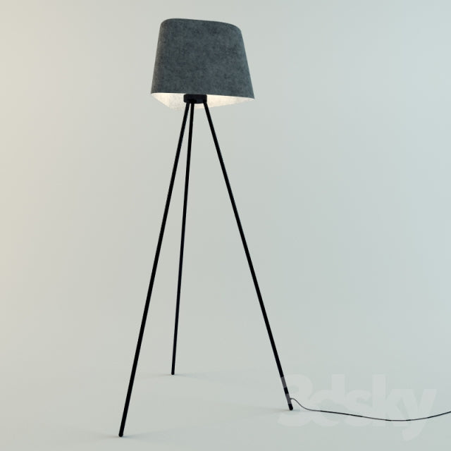 FELT FLOOR LAMP  by TOM DIXON, available at the Home Resource furniture store Sarasota Florida