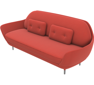 Favn Sofa  by Fritz Hansen, available at the Home Resource furniture store Sarasota Florida