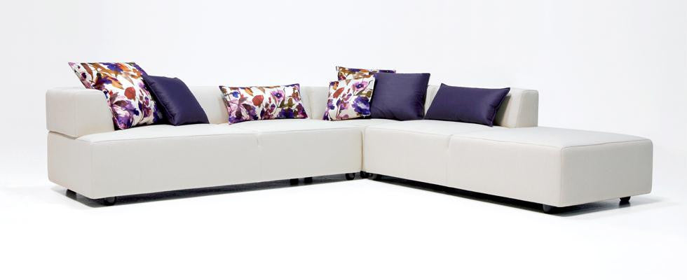 Gavin Sectional Sofa  by Dellarobbia, available at the Home Resource furniture store Sarasota Florida