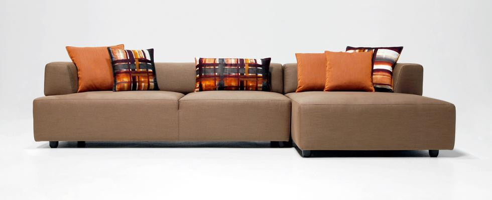 Gavin Sectional Sofa by Dellarobbia for sale at Home Resource Modern Furniture Store Sarasota Florida