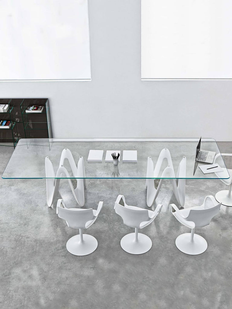 Lambda Table by Sovet Italia for sale at Home Resource Modern Furniture Store Sarasota Florida