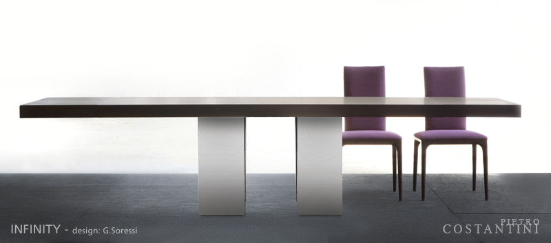 INFINITY DINING TABLE  by Pietro Costantini, available at the Home Resource furniture store Sarasota Florida