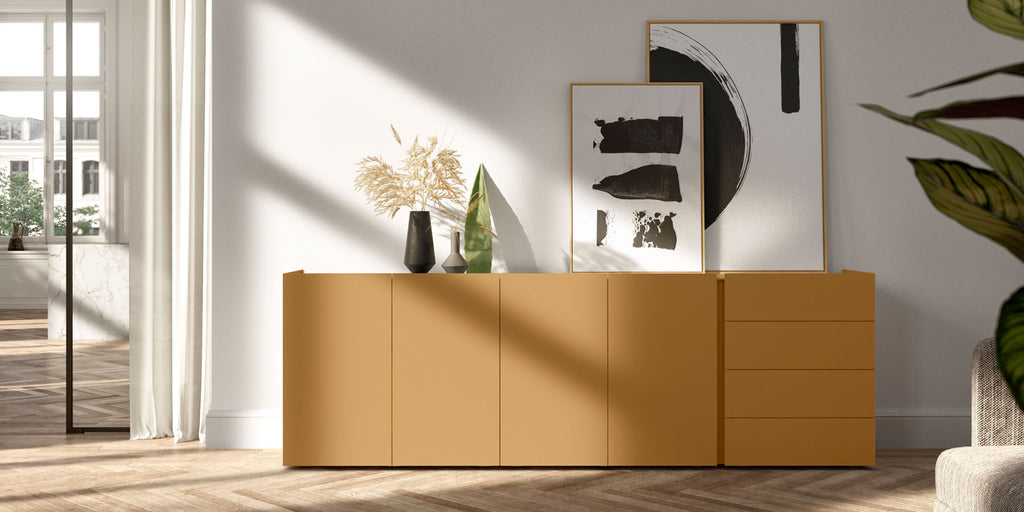 JOREL SIDEBOARD  by INTERLUBKE, available at the Home Resource furniture store Sarasota Florida