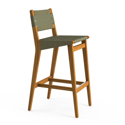 RISOM OUTDOOR BARSTOOL by Knoll
