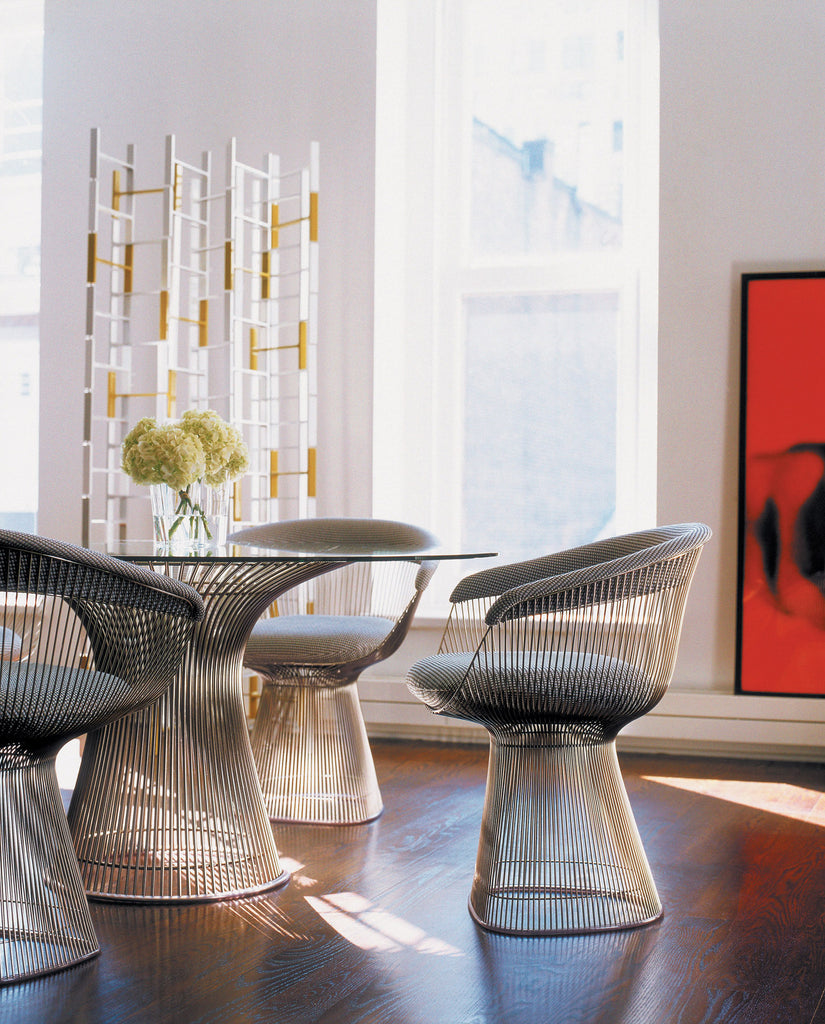 PLATNER DINING CHAIR  by Knoll, available at the Home Resource furniture store Sarasota Florida