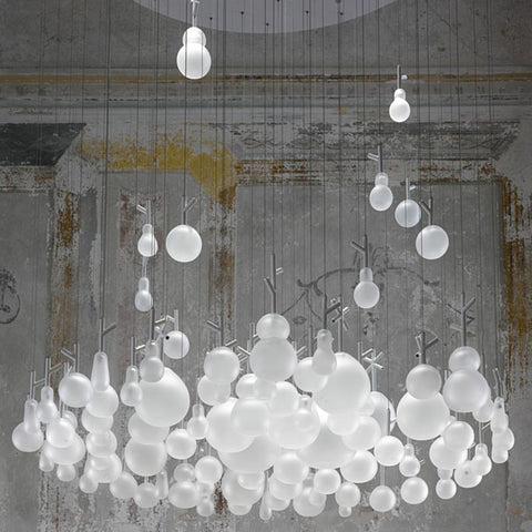 GROWING VASES CHANDELIER by LASVIT