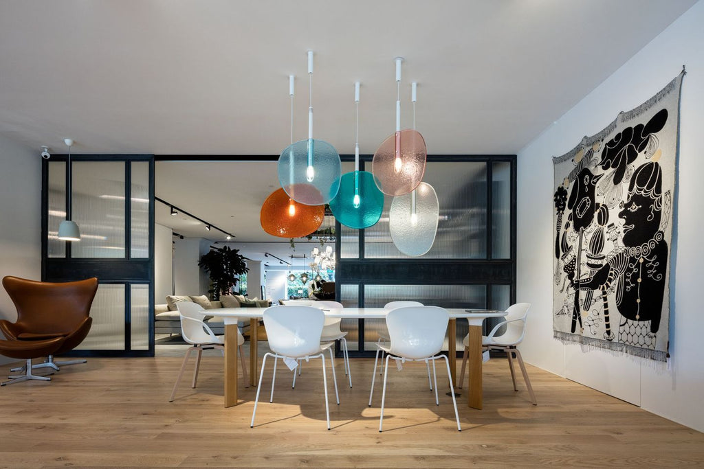 LOLLIPOP HANGING PENDANT by LASVIT for sale at Home Resource Modern Furniture Store Sarasota Florida