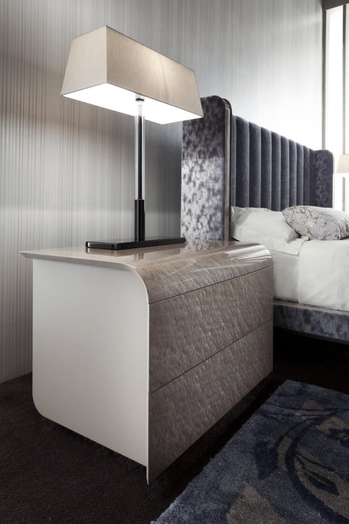 LIAISONS DRESSER AND NIGHTSTAND by Pietro Costantini for sale at Home Resource Modern Furniture Store Sarasota Florida