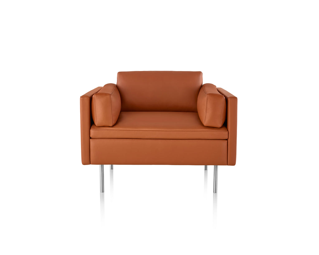 BOLSTER OCCASSIONAL CHAIR  by Herman Miller, available at the Home Resource furniture store Sarasota Florida