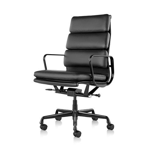 Eames Soft Pad Chair  by Herman Miller, available at the Home Resource furniture store Sarasota Florida