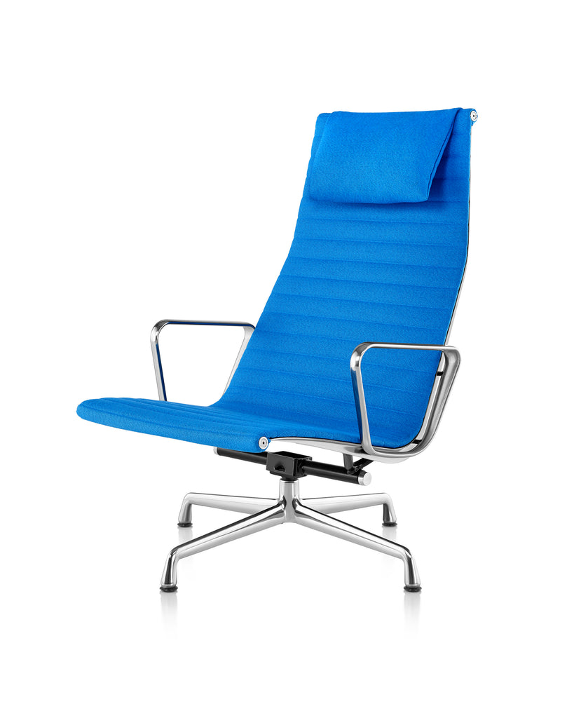 EAMES ALUMINUM GROUP LOUNGE CHAIR by Herman Miller for sale at Home Resource Modern Furniture Store Sarasota Florida