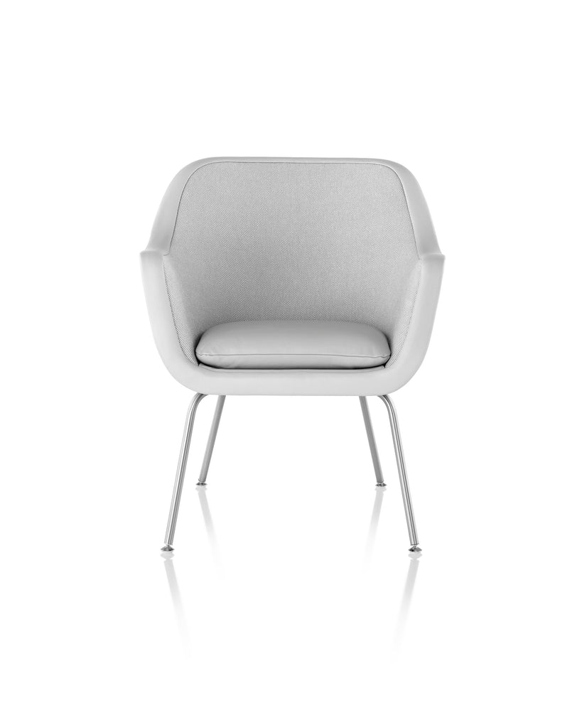 BUMPER CHAIR Designed by Ward Bennet for Geiger, distributed by Herman Miller  by Herman Miller, available at the Home Resource furniture store Sarasota Florida