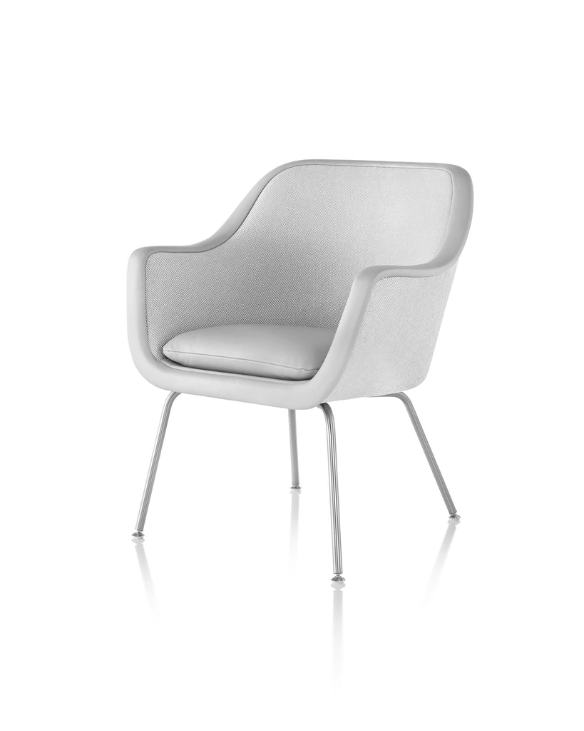 BUMPER CHAIR Designed by Ward Bennet for Geiger, distributed by Herman Miller by Herman Miller for sale at Home Resource Modern Furniture Store Sarasota Florida