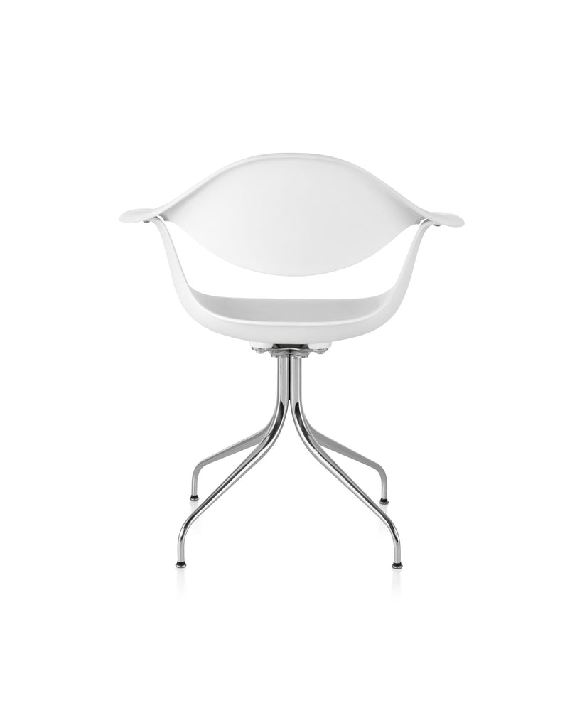 Nelson Swag Leg Chair  by Herman Miller, available at the Home Resource furniture store Sarasota Florida