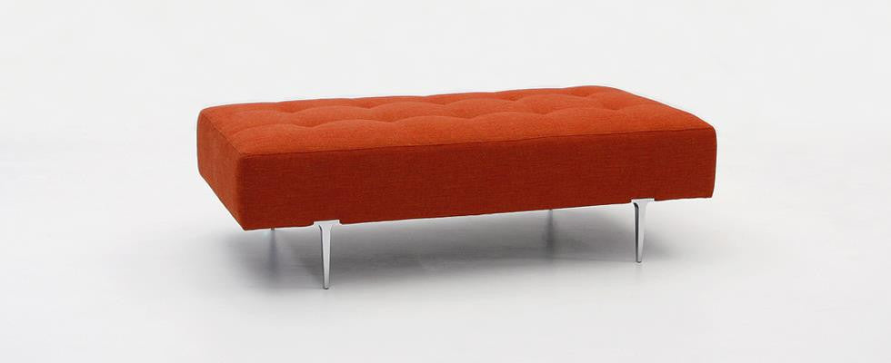 Margo Bench/Ottoman  by Dellarobbia, available at the Home Resource furniture store Sarasota Florida
