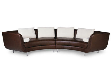 Menlo Park Sofas by American Leather for sale at Home Resource Modern Furniture Store Sarasota Florida