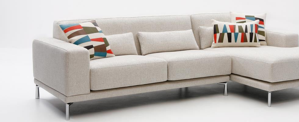 Monroe Sectional by Dellarobbia for sale at Home Resource Modern Furniture Store Sarasota Florida