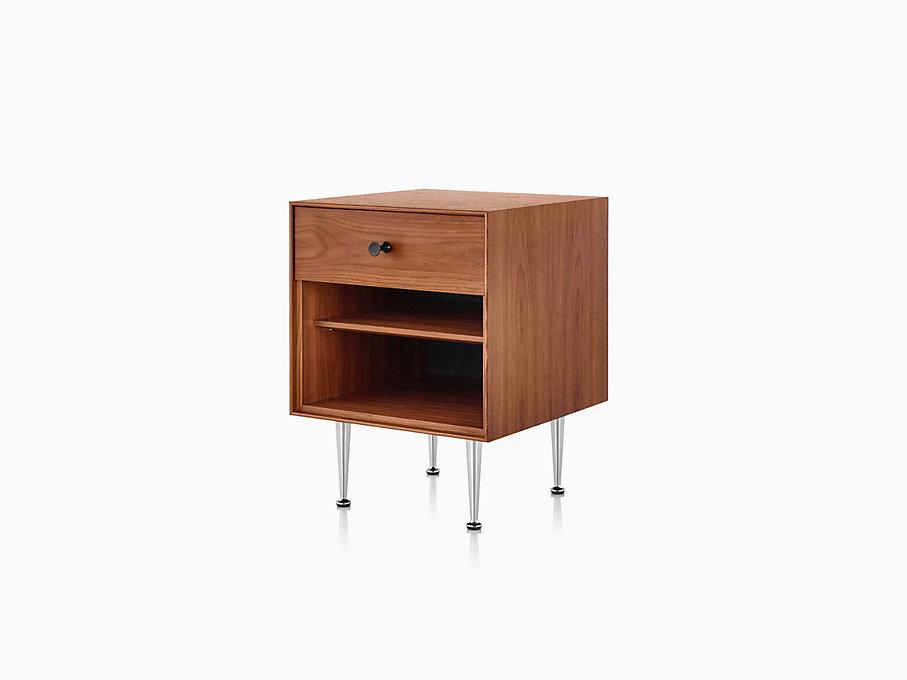NELSON THIN EDGE BEDSIDE TABLE  by Herman Miller, available at the Home Resource furniture store Sarasota Florida
