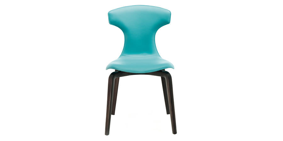 MONTERA DINING CHAIR  by Poltrona Frau, available at the Home Resource furniture store Sarasota Florida