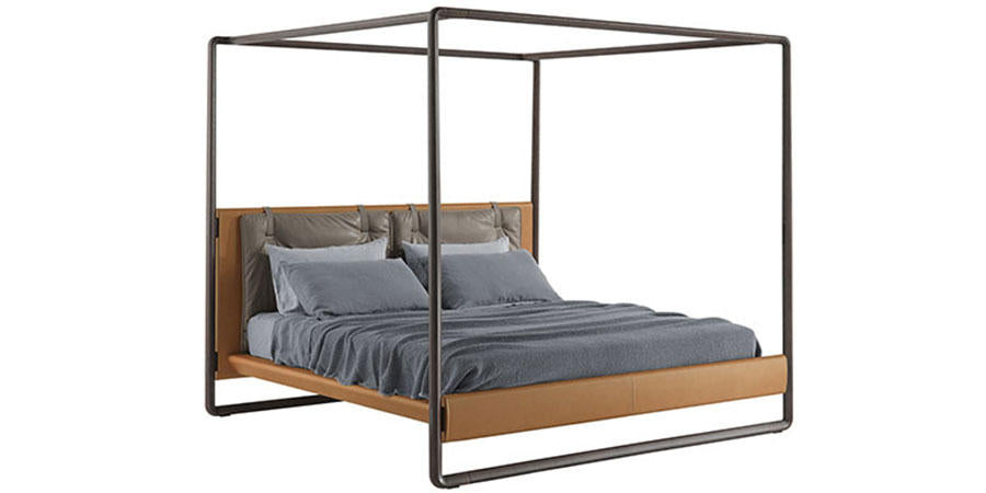 VOLARE BED by Poltrona Frau for sale at Home Resource Modern Furniture Store Sarasota Florida