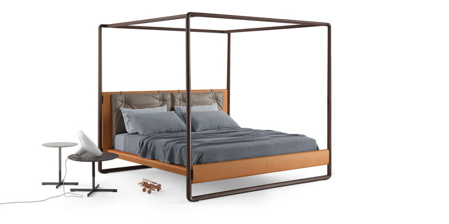 VOLARE BED  by Poltrona Frau, available at the Home Resource furniture store Sarasota Florida