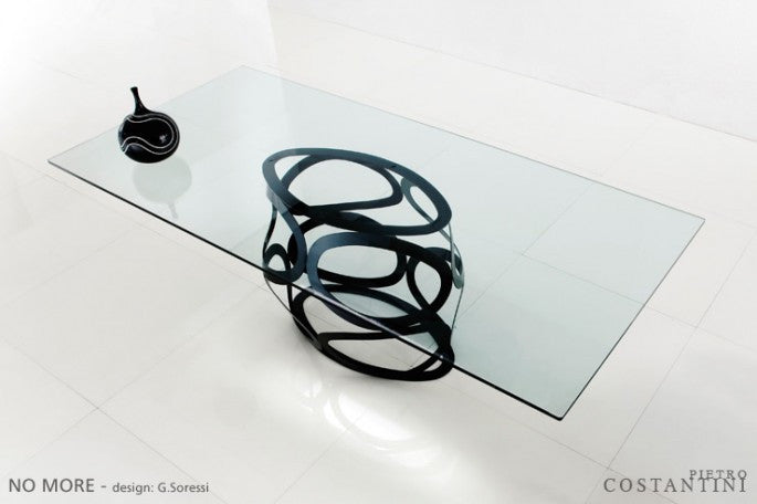 NO MORE DINING TABLE  by Pietro Costantini, available at the Home Resource furniture store Sarasota Florida