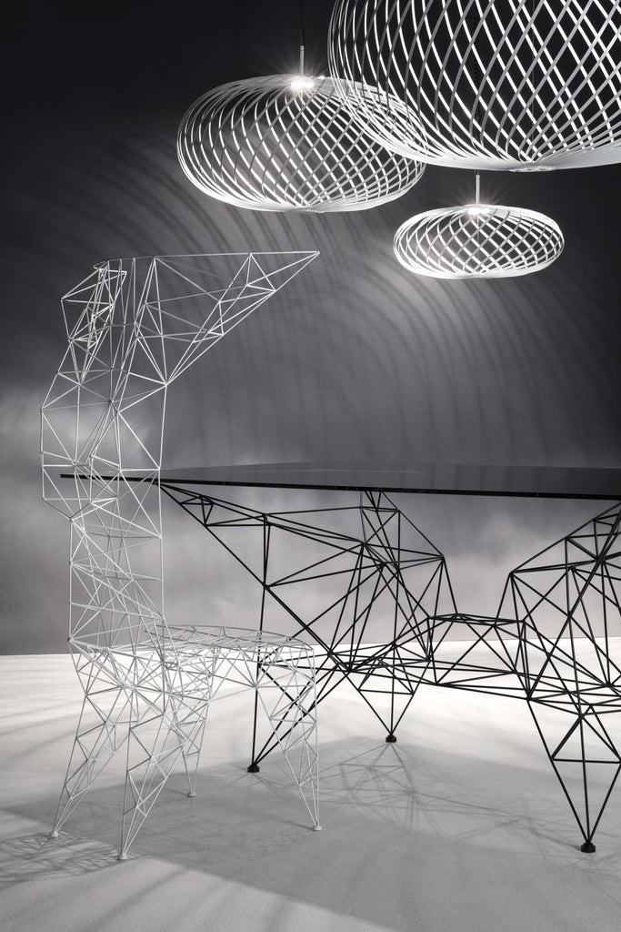 PYLON DINING TABLE by TOM DIXON for sale at Home Resource Modern Furniture Store Sarasota Florida