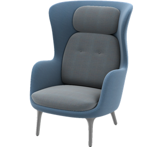 Ro Chair  by Fritz Hansen, available at the Home Resource furniture store Sarasota Florida