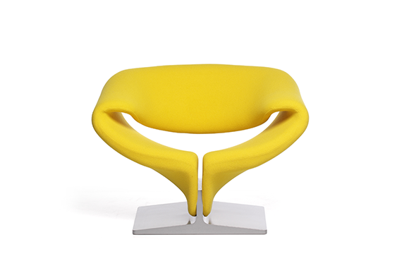 Ribbon Chair  by Artifort, available at the Home Resource furniture store Sarasota Florida