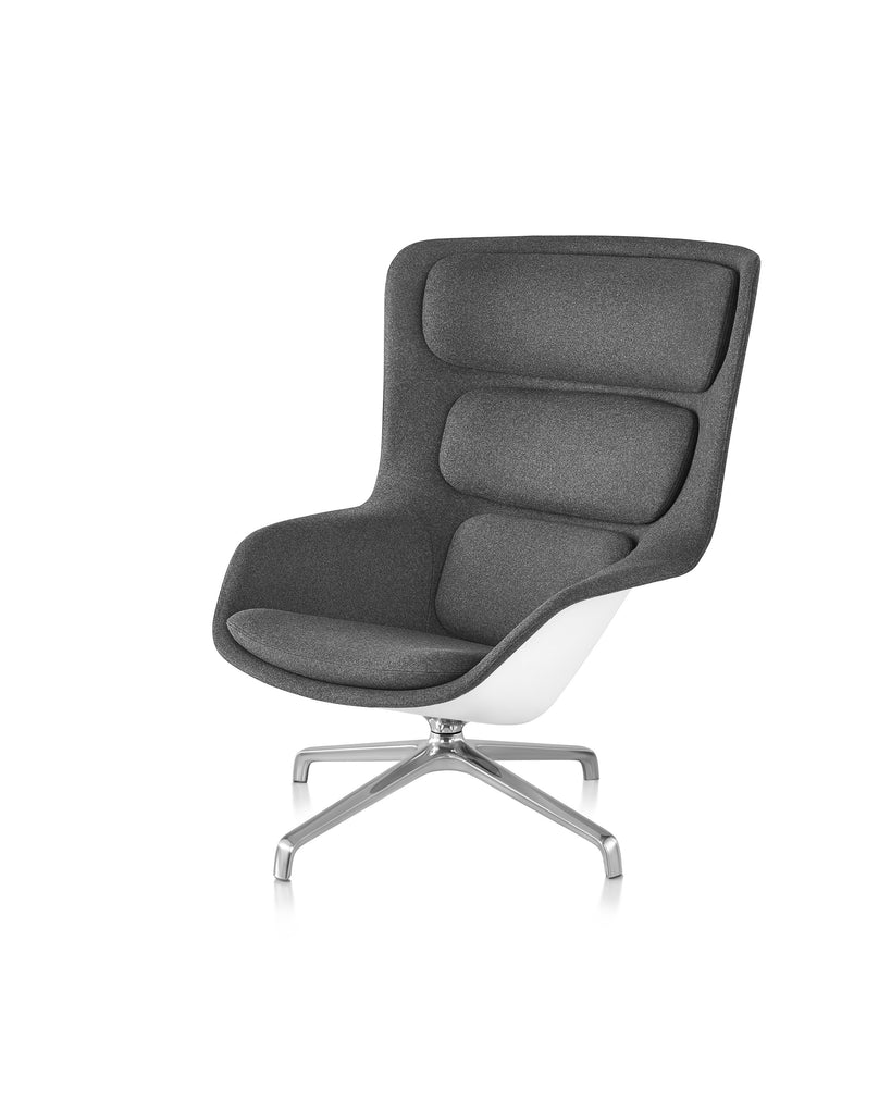 STRIAD LOUNGE CHAIR AND OTTOMAN  by Herman Miller, available at the Home Resource furniture store Sarasota Florida