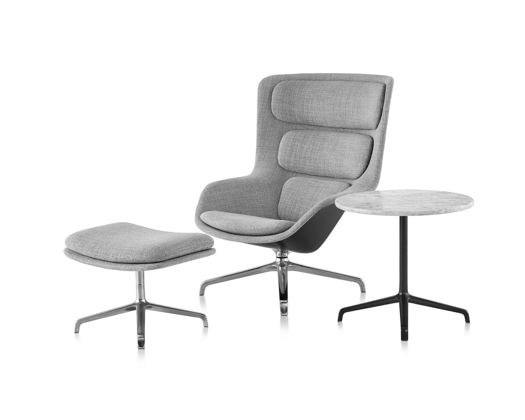 STRIAD LOUNGE CHAIR AND OTTOMAN by Herman Miller for sale at Home Resource Modern Furniture Store Sarasota Florida