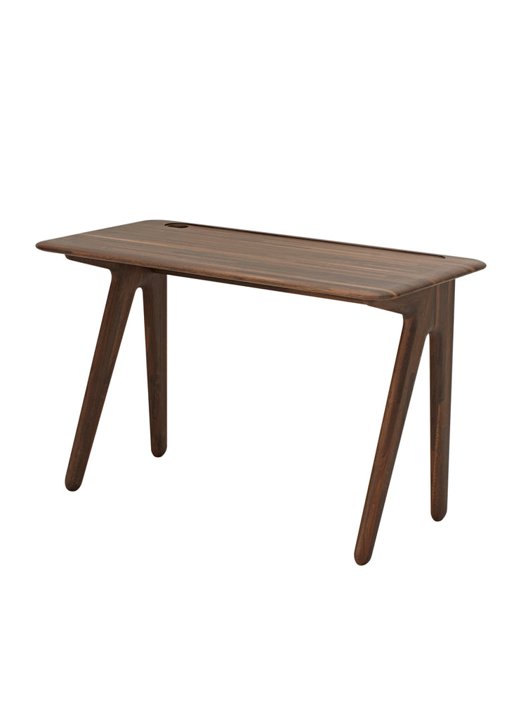 SLAB INDIVIDUAL DESK SMALL FUMED OAK  by TOM DIXON, available at the Home Resource furniture store Sarasota Florida