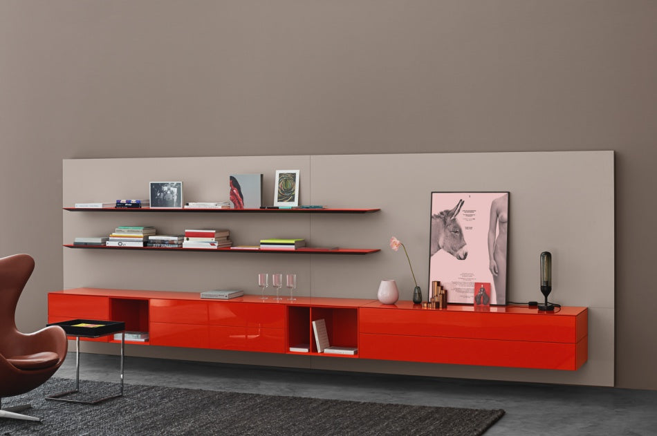 SOMA WALL UNIT  by KETTNAKER, available at the Home Resource furniture store Sarasota Florida