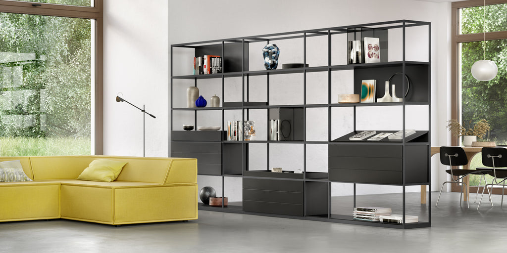 TADO SHELVING SYSTEM  by INTERLUBKE, available at the Home Resource furniture store Sarasota Florida