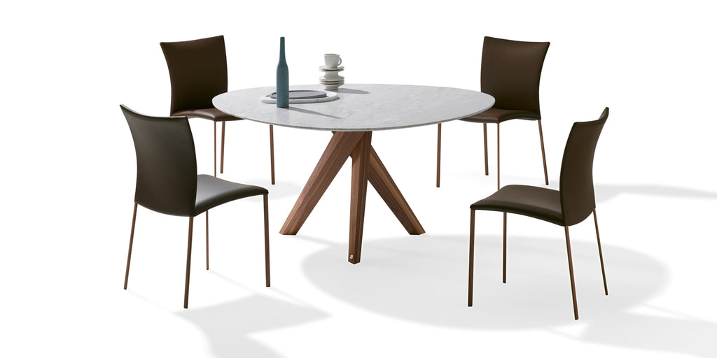 TRILOPE DINING TABLE  by DRAENERT, available at the Home Resource furniture store Sarasota Florida