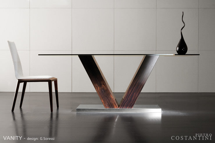 Vanity Dining Table  by Pietro Costantini, available at the Home Resource furniture store Sarasota Florida