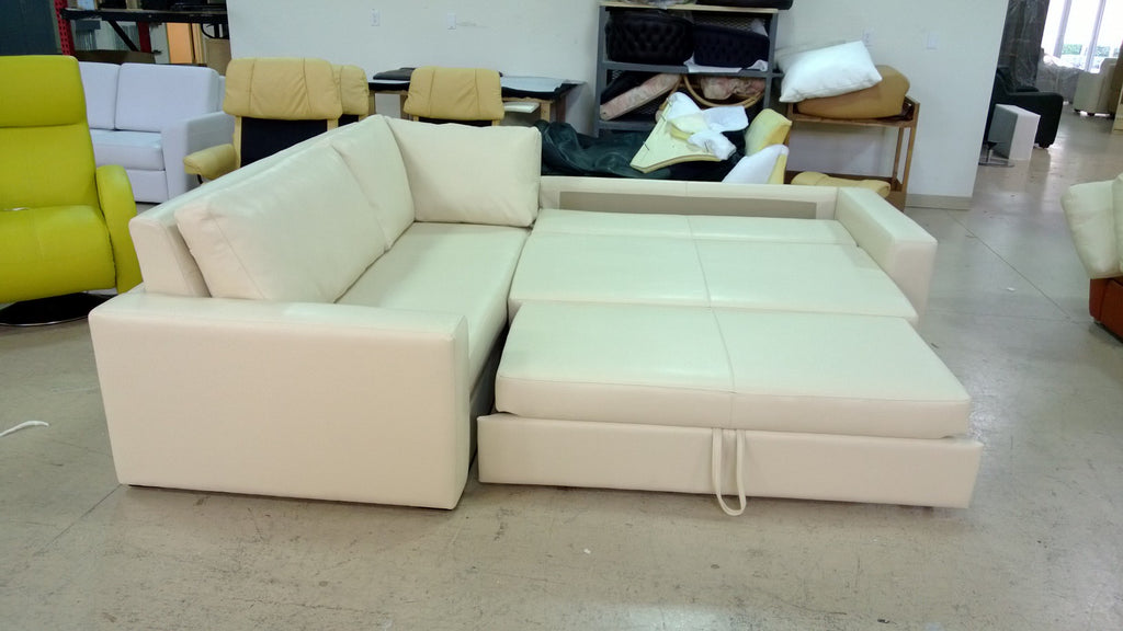 Presley Sleeper Sectional by Dileto for sale at Home Resource Modern Furniture Store Sarasota Florida