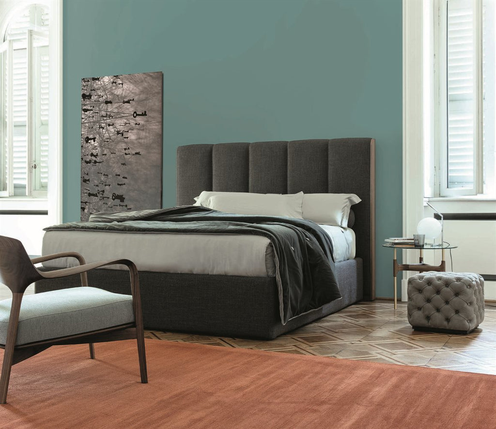 AIDA BED  by Porada, available at the Home Resource furniture store Sarasota Florida