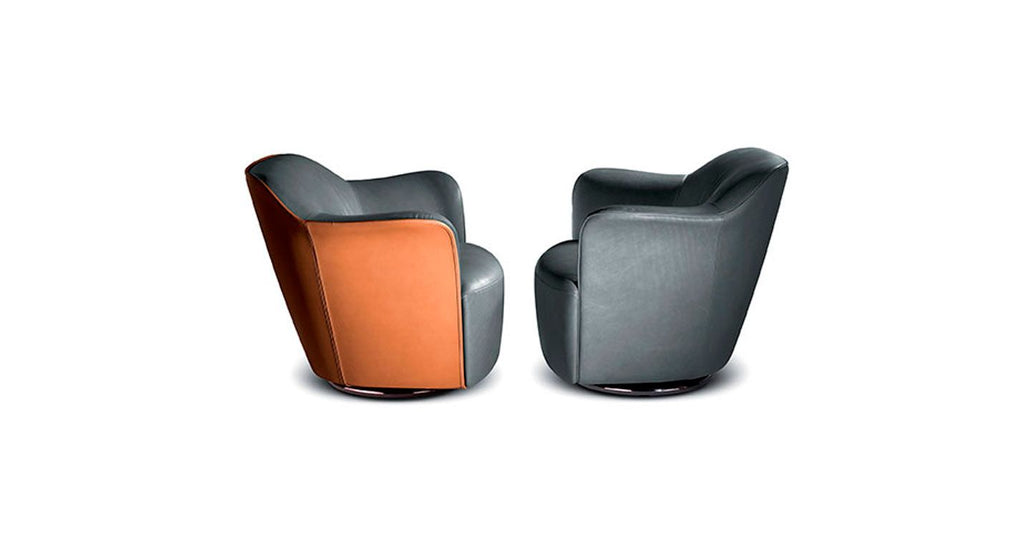 AIDA SWIVEL CHAIR  by Poltrona Frau, available at the Home Resource furniture store Sarasota Florida