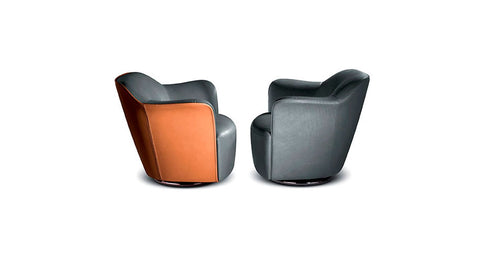 AIDA SWIVEL CHAIR by Poltrona Frau