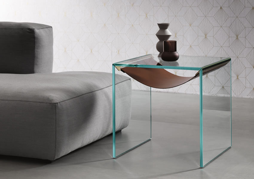 AMACA SIDE TABLE  by TONELLI, available at the Home Resource furniture store Sarasota Florida
