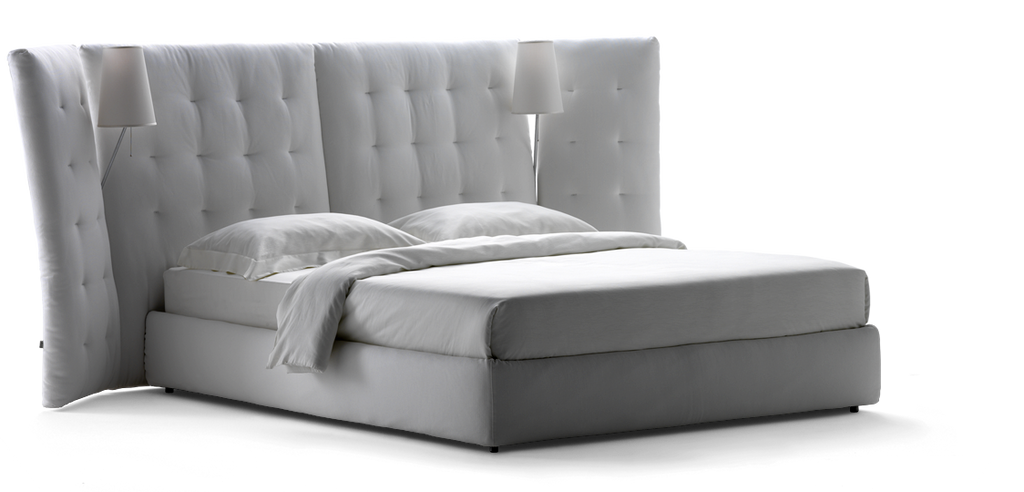 Angle Bed  by Flou, available at the Home Resource furniture store Sarasota Florida