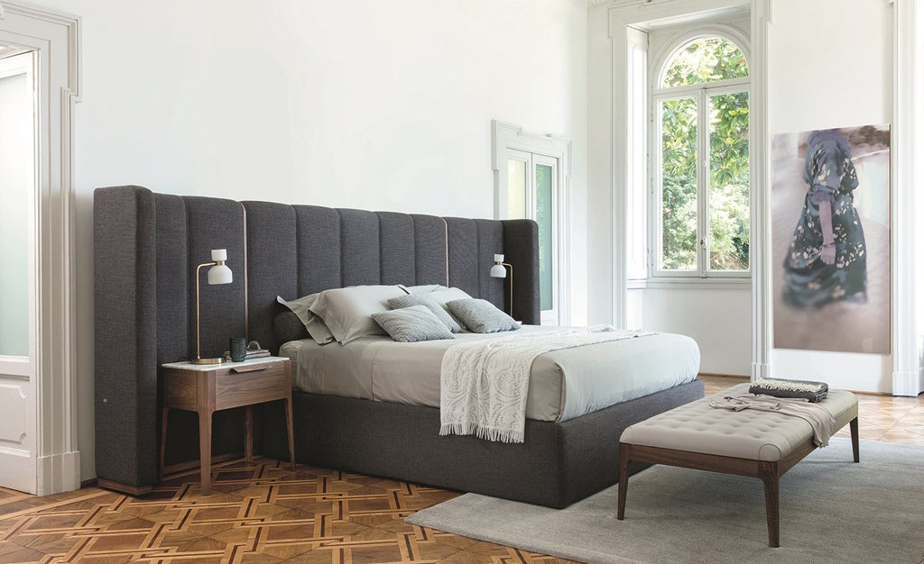 APOLLO BED  by Porada, available at the Home Resource furniture store Sarasota Florida