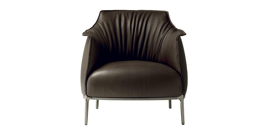 Archibald Armchair  by Poltrona Frau, available at the Home Resource furniture store Sarasota Florida