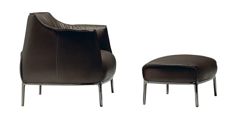 Archibald Armchair by Poltrona Frau for sale at Home Resource Modern Furniture Store Sarasota Florida