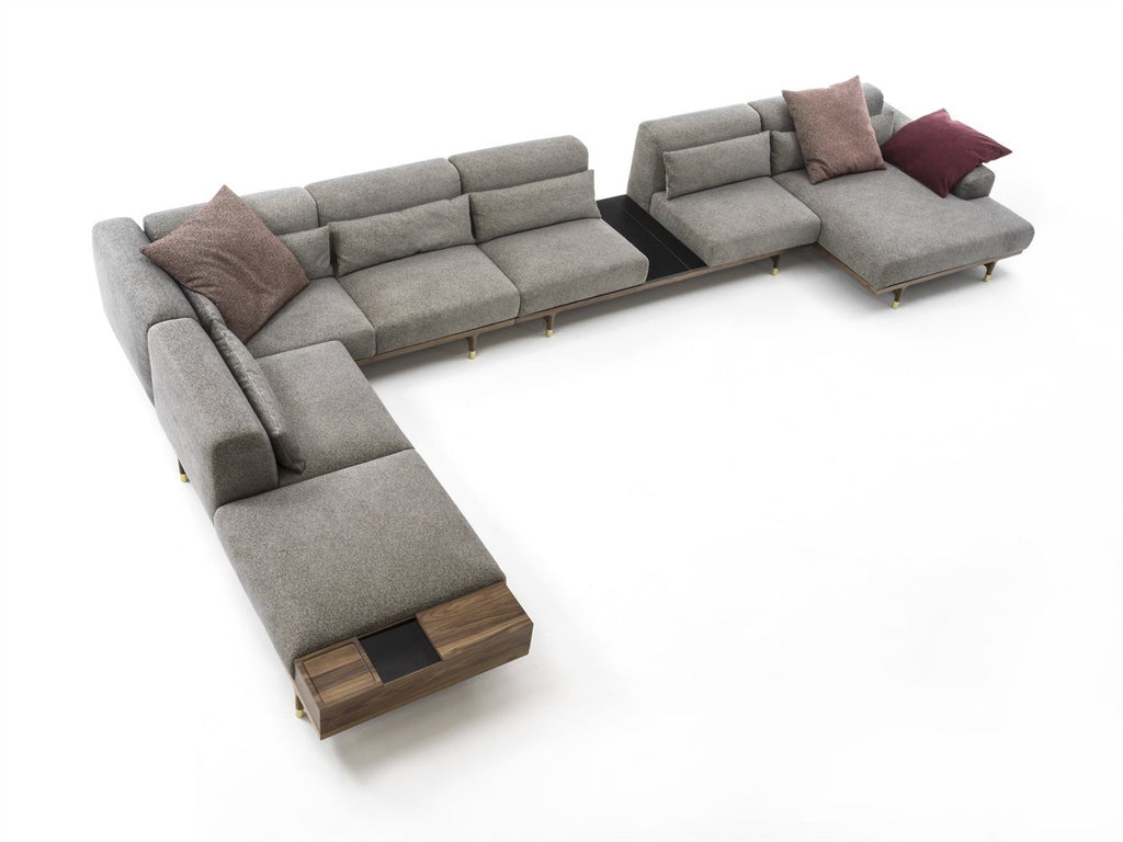 ARGON SOFA AND SECTIONAL by Porada for sale at Home Resource Modern Furniture Store Sarasota Florida