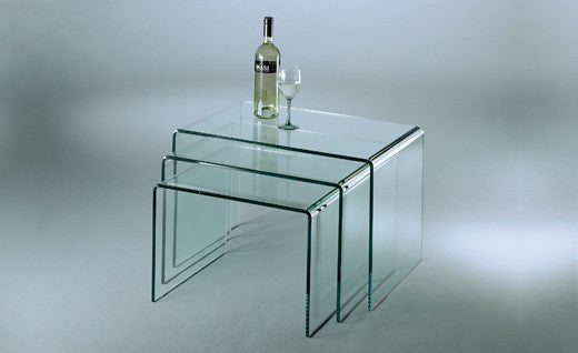 STO6 Nesting Tables  by DREIECK, available at the Home Resource furniture store Sarasota Florida