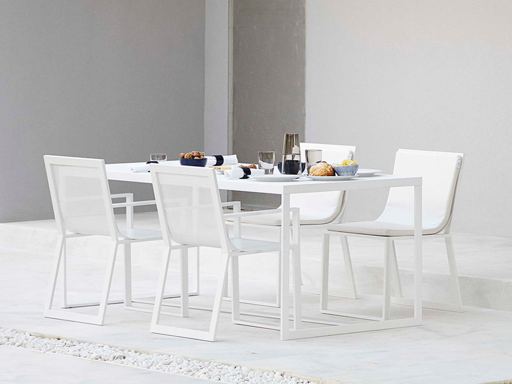 BLAU DINING TABLE  by Gandia Blasco, available at the Home Resource furniture store Sarasota Florida