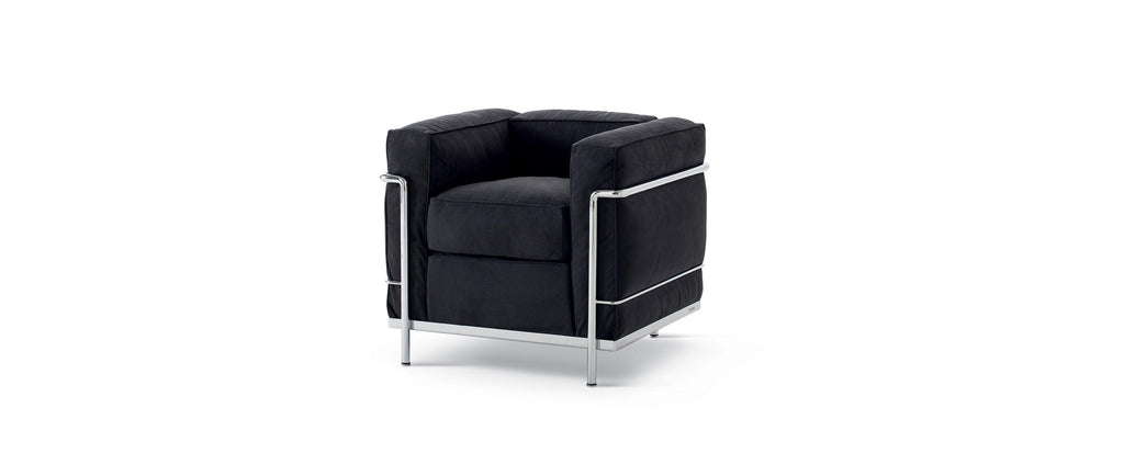 LC2 Chair  by Cassina, available at the Home Resource furniture store Sarasota Florida